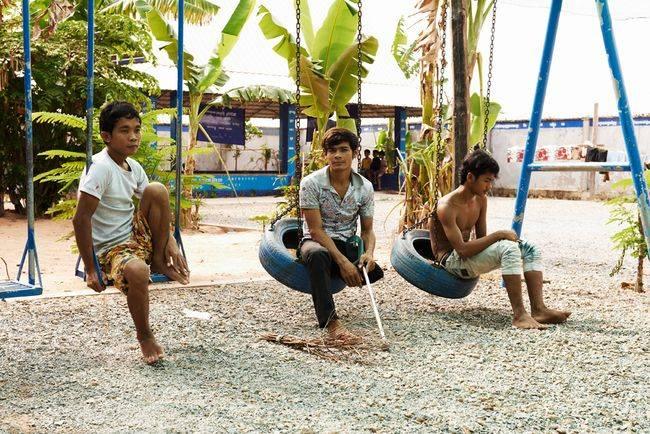 Landmine museum Siem Reap welfare centre